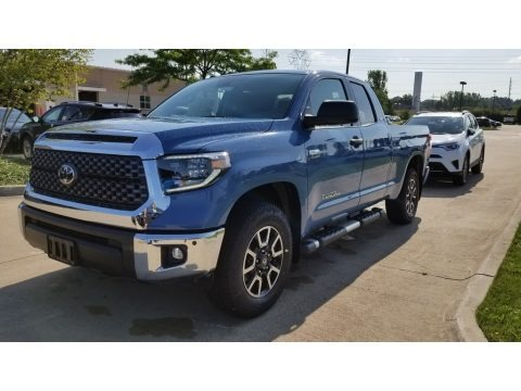 Cavalry Blue 2019 Toyota Tundra TRD Off Road Double Cab 4x4