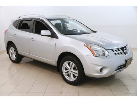 Brilliant Silver 2013 Nissan Rogue SV AWD