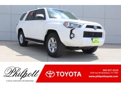 Super White 2018 Toyota 4Runner SR5