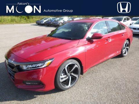 San Marino Red 2018 Honda Accord Sport Sedan