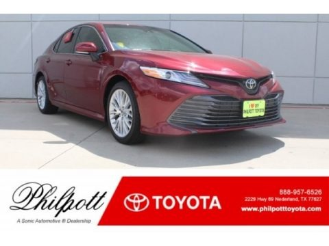 Ruby Flare Pearl 2018 Toyota Camry XLE