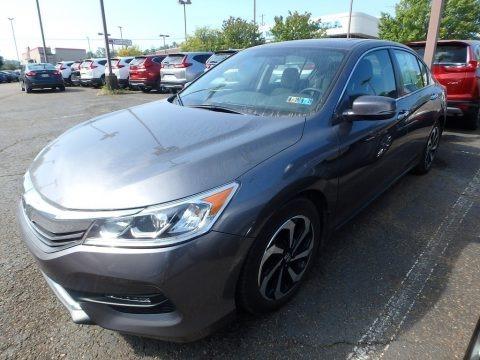 Modern Steel Metallic 2016 Honda Accord EX Sedan