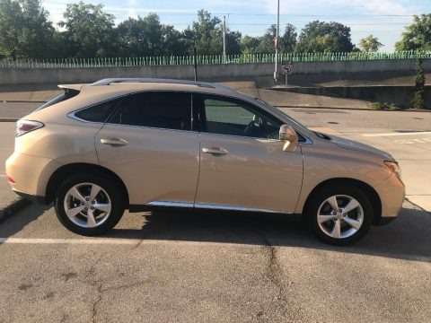 Golden Almond Metallic 2010 Lexus RX 350 AWD