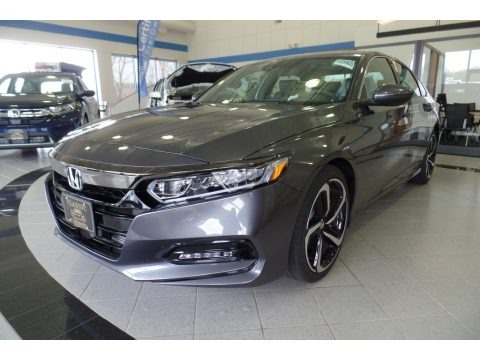 Modern Steel Metallic 2018 Honda Accord Sport Sedan