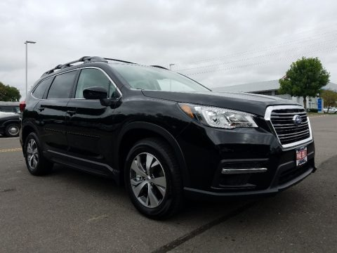 Crystal Black Silica 2019 Subaru Ascent Premium