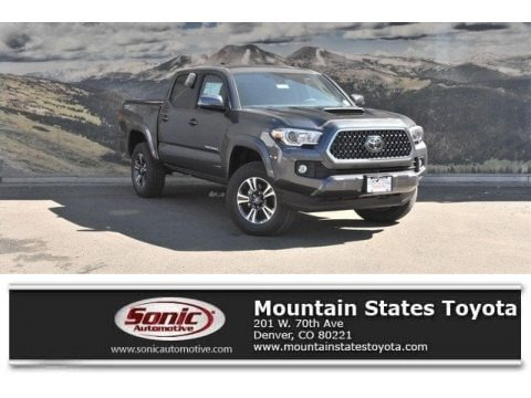 Magnetic Gray Metallic 2018 Toyota Tacoma SR Double Cab 4x4