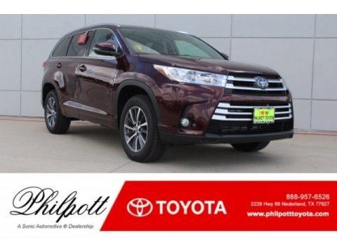 Ooh La La Rouge Mica 2018 Toyota Highlander XLE