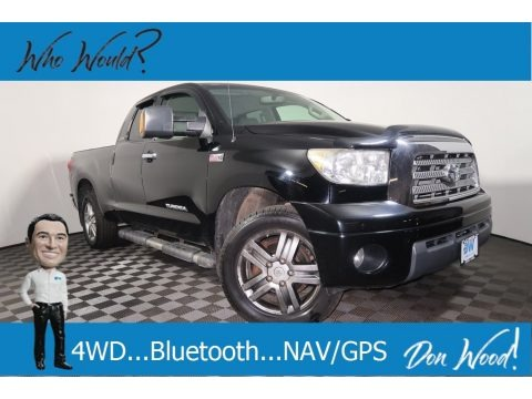 Black 2007 Toyota Tundra Limited Double Cab 4x4