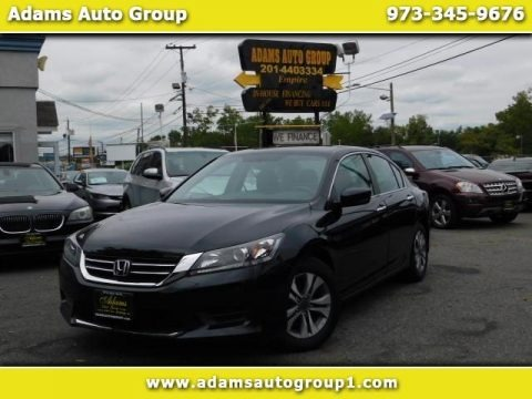 Crystal Black Pearl 2015 Honda Accord LX Sedan