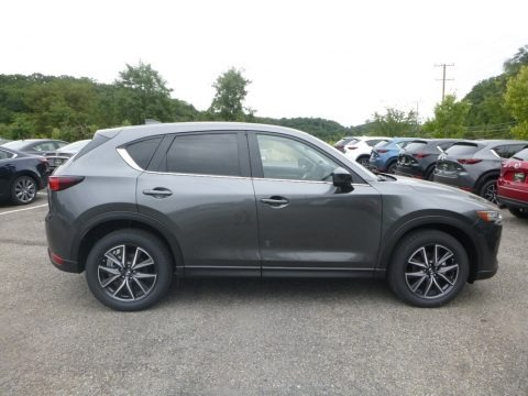 Machine Gray Metallic 2018 Mazda CX-5 Touring AWD