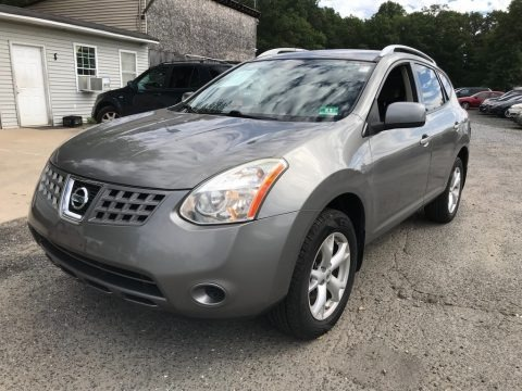Gotham Gray Metallic 2008 Nissan Rogue SL AWD