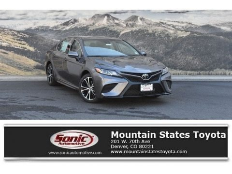 Predawn Gray Mica 2019 Toyota Camry SE