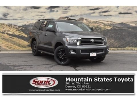 Magnetic Gray Metallic 2019 Toyota Sequoia TRD Sport 4x4