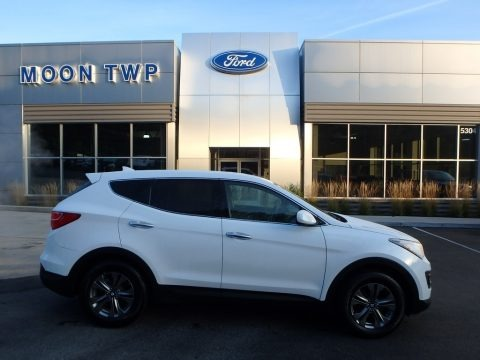 Frost White Pearl 2015 Hyundai Santa Fe Sport 2.4 AWD