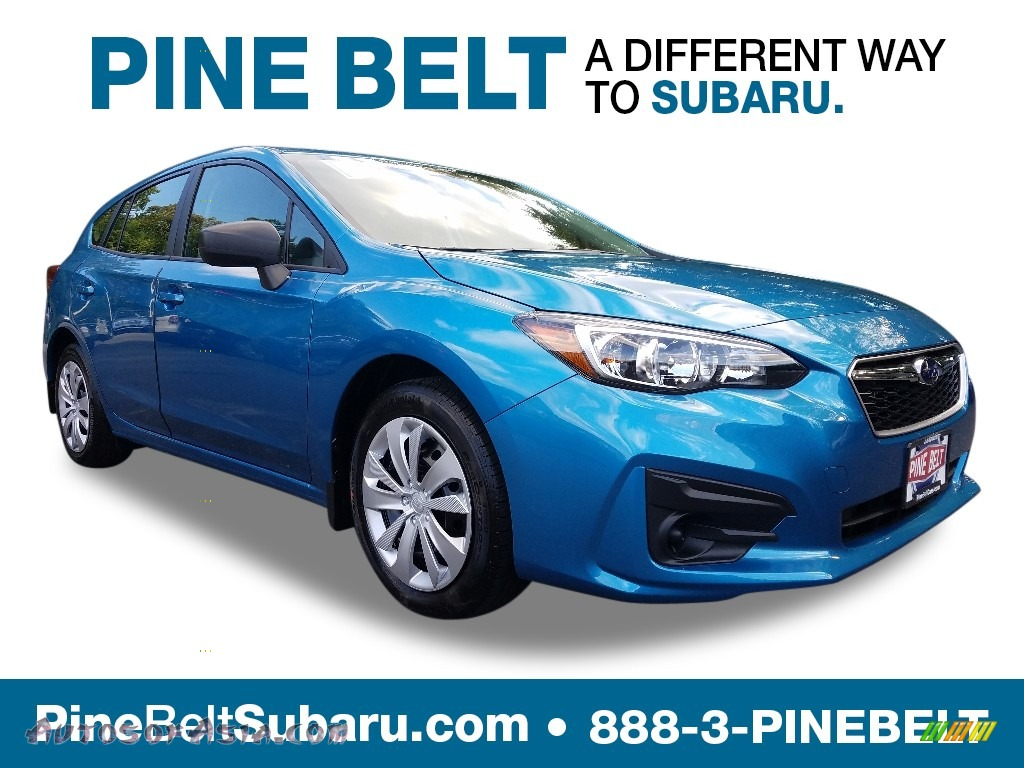 2019 Impreza 2.0i 5-Door - Island Blue Pearl / Black photo #1