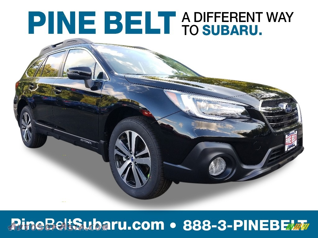 2019 Outback 2.5i Limited - Crystal Black Silica / Slate Black photo #1