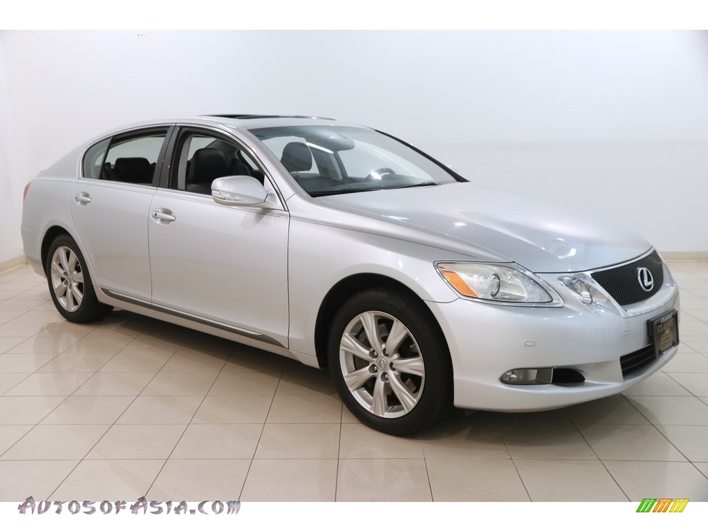 Mercury Metallic / Black Lexus GS 350 AWD