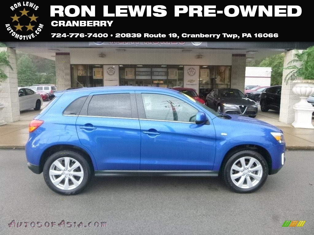 2015 Outlander Sport SE AWC - Octane Blue / Black photo #1
