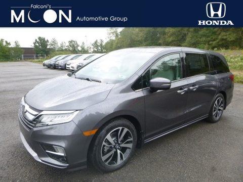 Modern Steel Metallic 2019 Honda Odyssey Elite