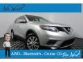 Nissan Rogue S AWD Brilliant Silver photo #1