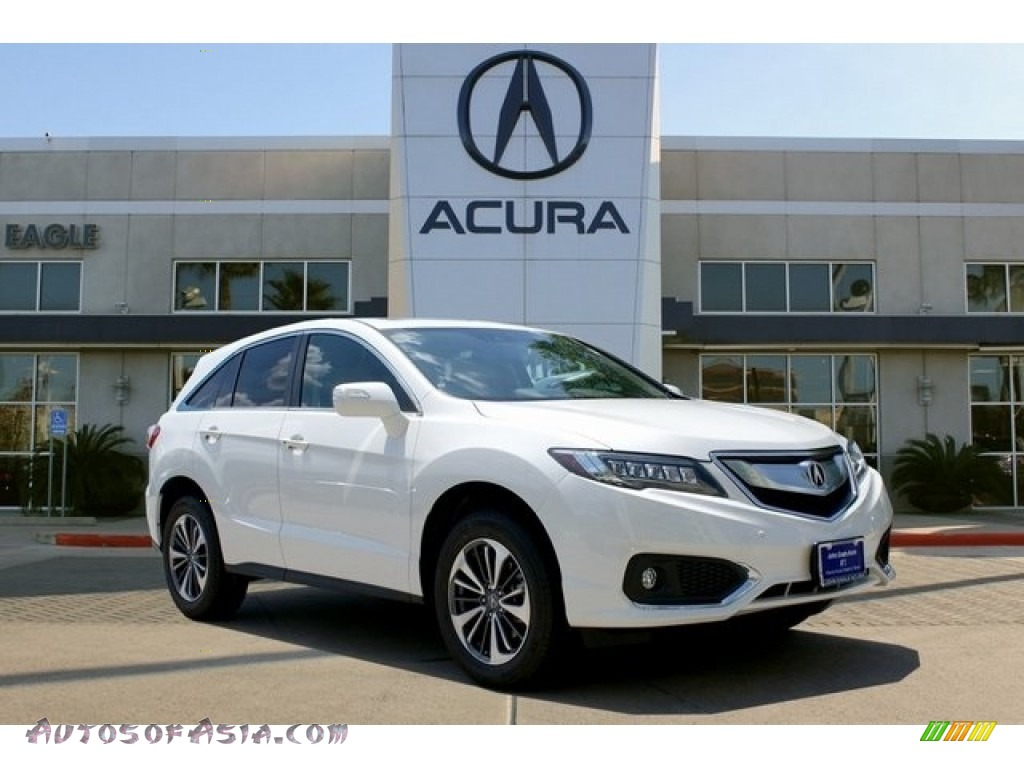 2018 RDX FWD Advance - White Diamond Pearl / Parchment photo #1