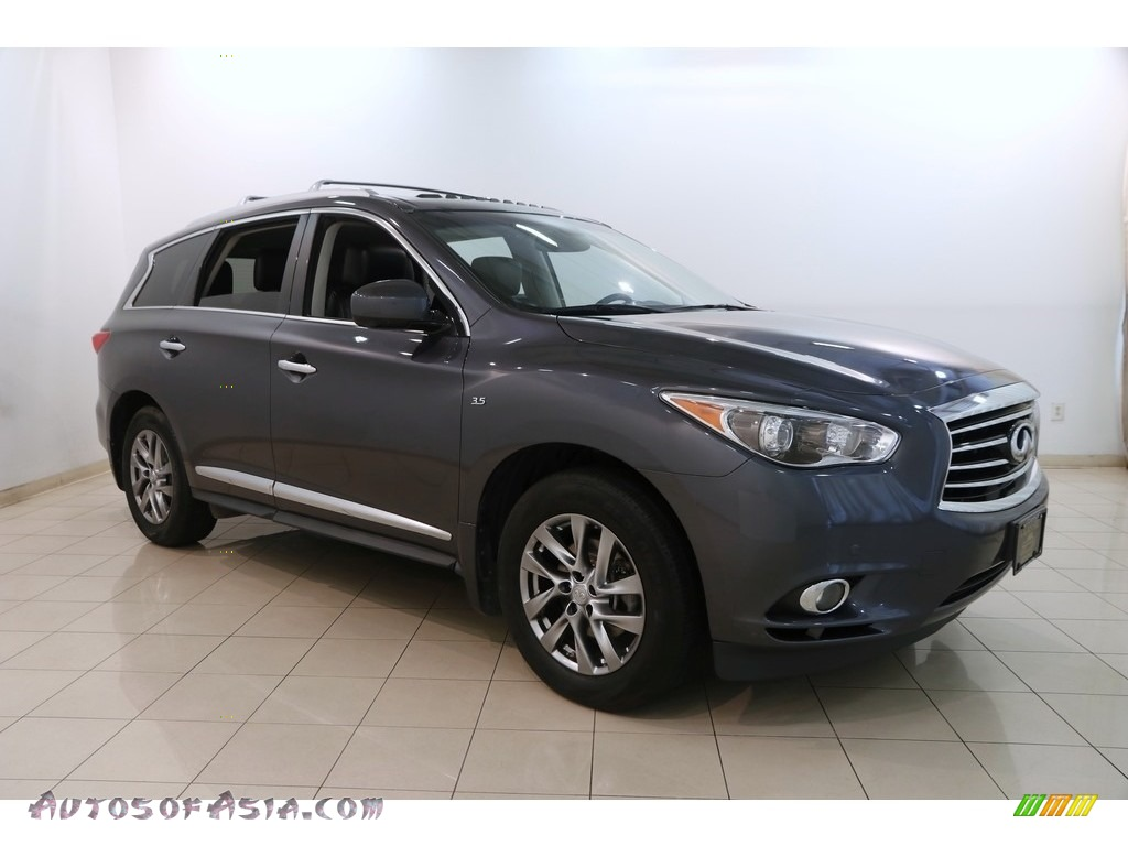 2014 QX60 3.5 AWD - Diamond Slate / Graphite photo #1