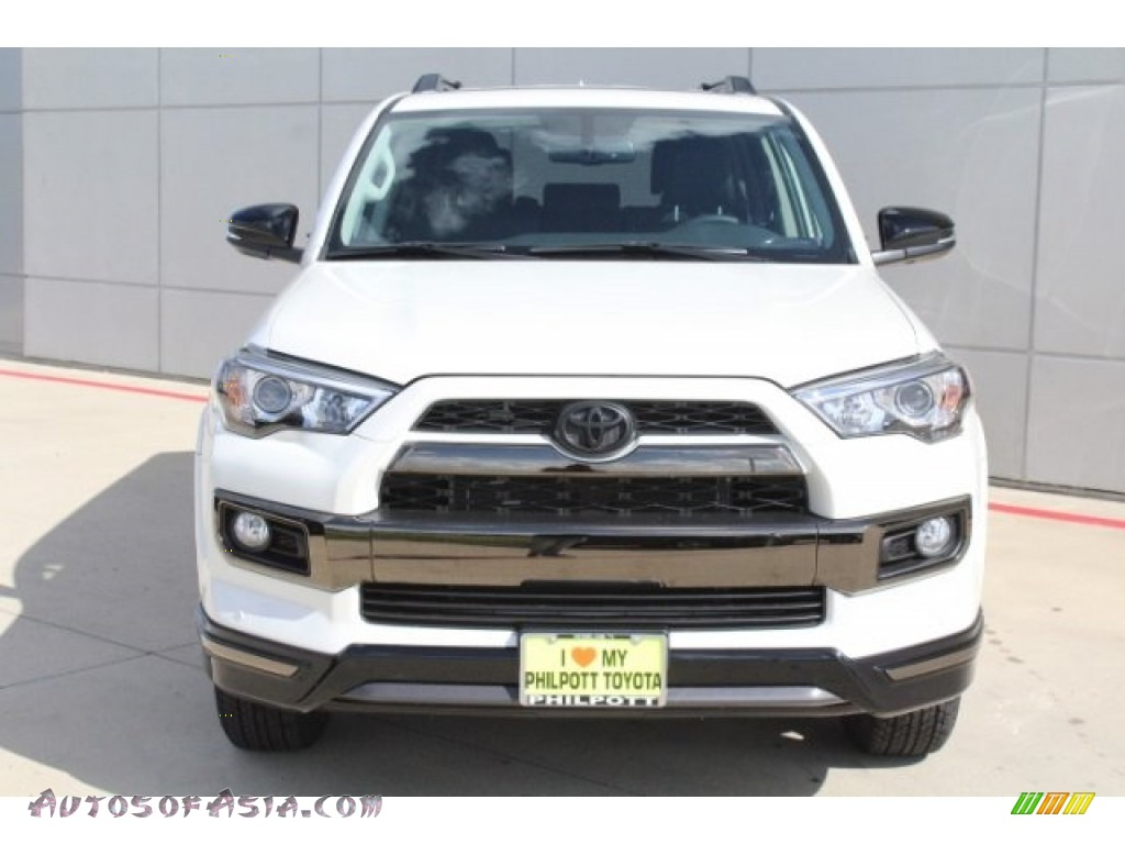 2019 4Runner Nightshade Edition 4x4 - Blizzard White Pearl / Graphite photo #2