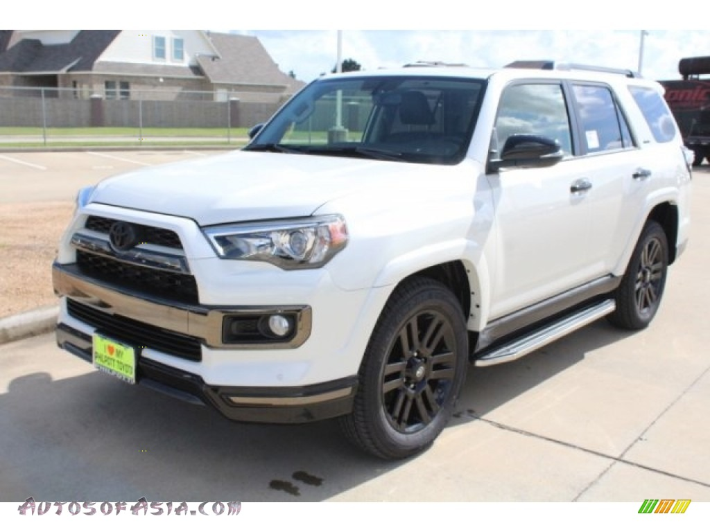 2019 4Runner Nightshade Edition 4x4 - Blizzard White Pearl / Graphite photo #3