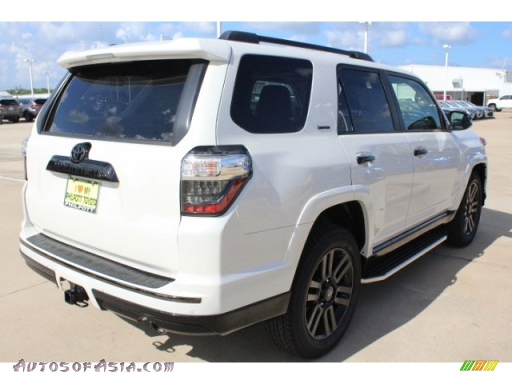 2019 4Runner Nightshade Edition 4x4 - Blizzard White Pearl / Graphite photo #8