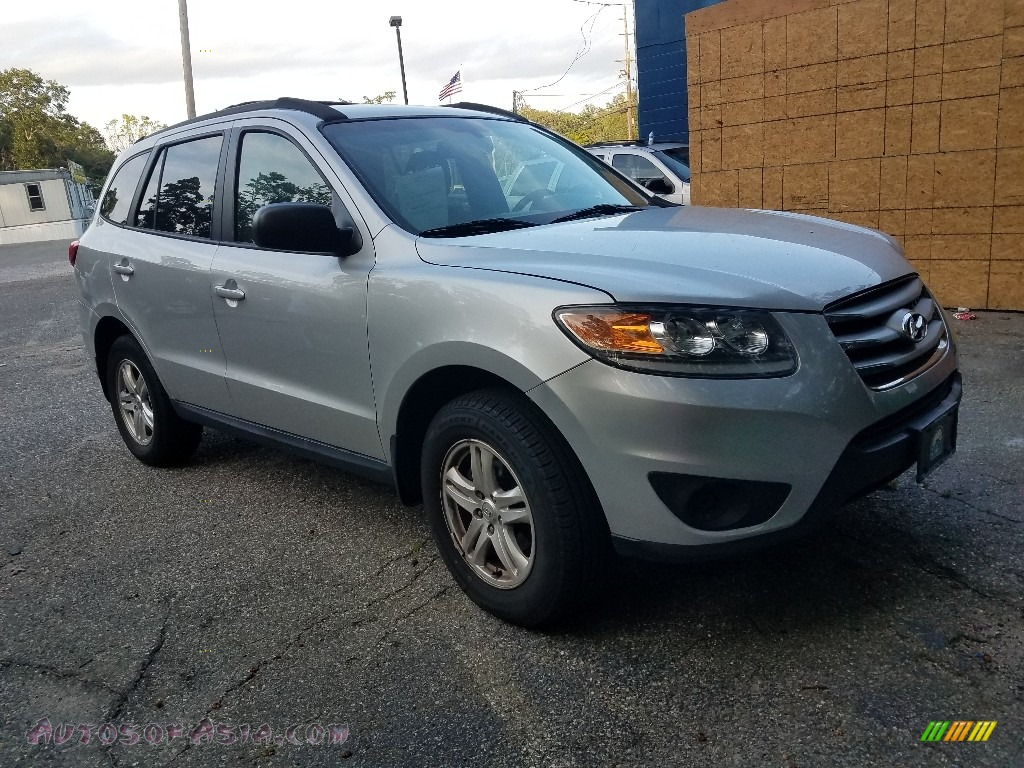 2012 Santa Fe GLS AWD - Moonstone Silver / Beige photo #1