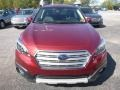 Subaru Outback 2.5i Limited Venetian Red Pearl photo #9
