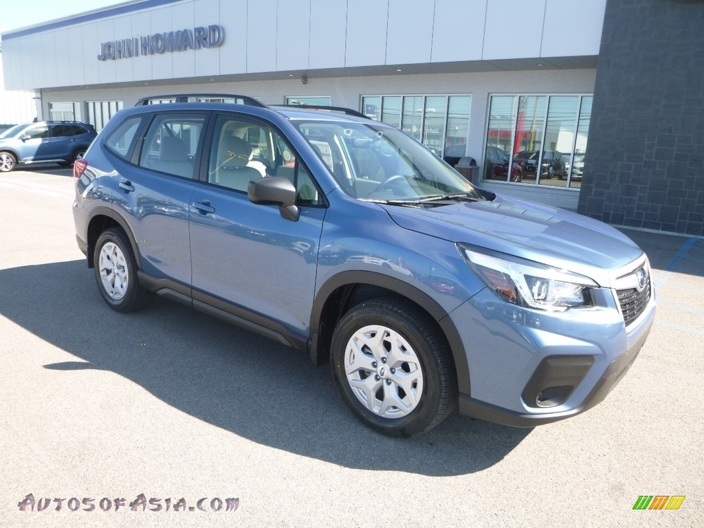 2019 Forester 2.5i - Horizon Blue Pearl / Gray photo #1