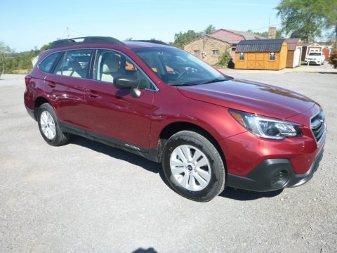 Crimson Red Pearl 2019 Subaru Outback 2.5i