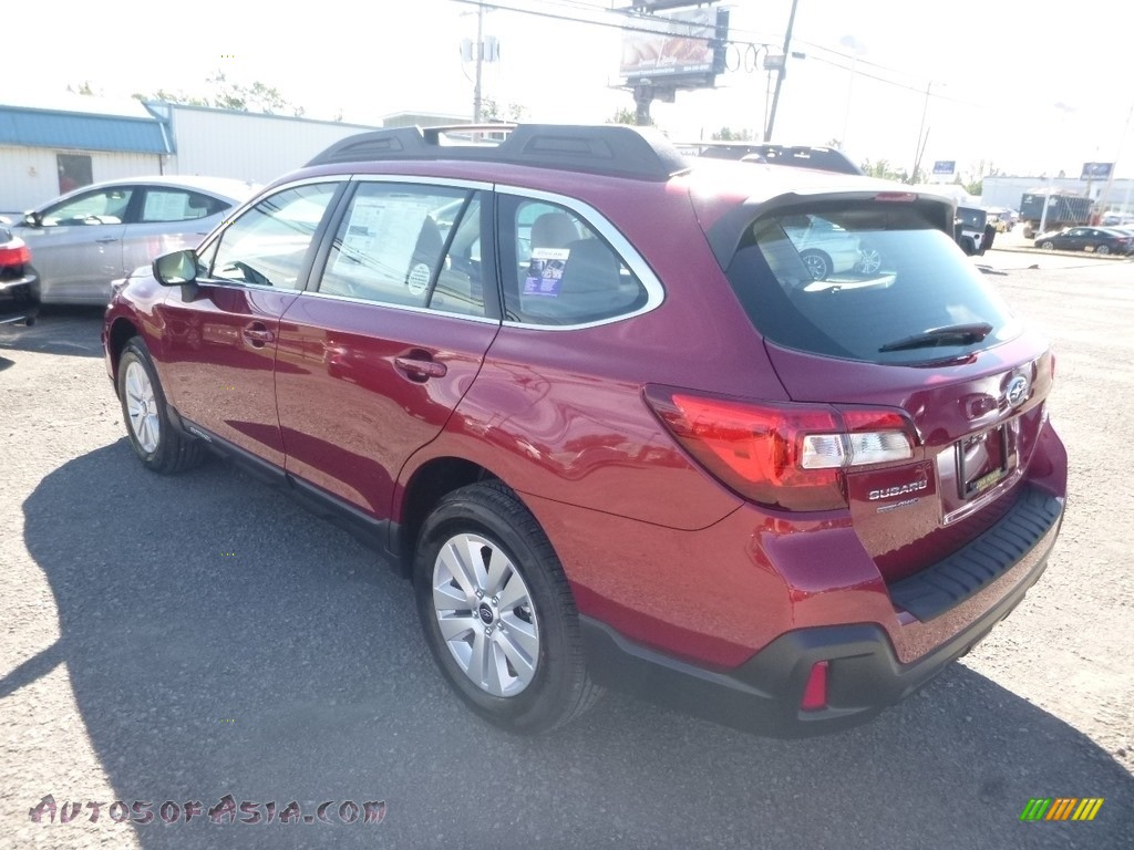 2019 Outback 2.5i - Crimson Red Pearl / Warm Ivory photo #6