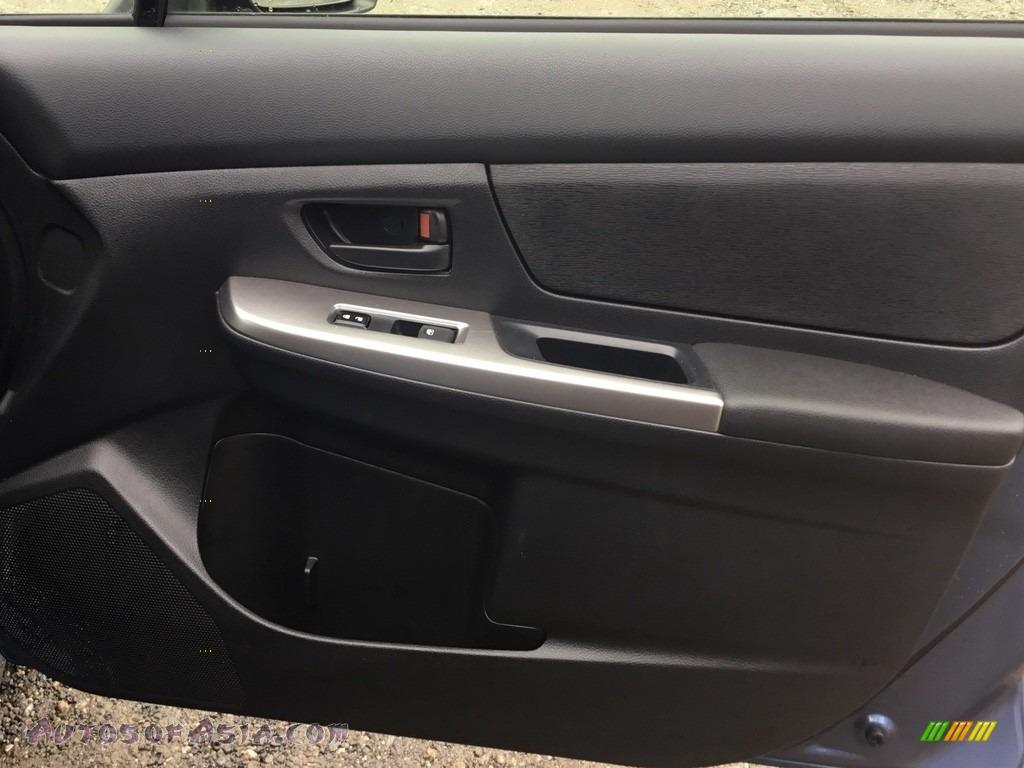 2016 Impreza 2.0i 4-door - Quartz Blue Pearl / Black photo #24