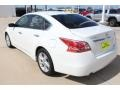 Nissan Altima 2.5 SV Pearl White photo #6