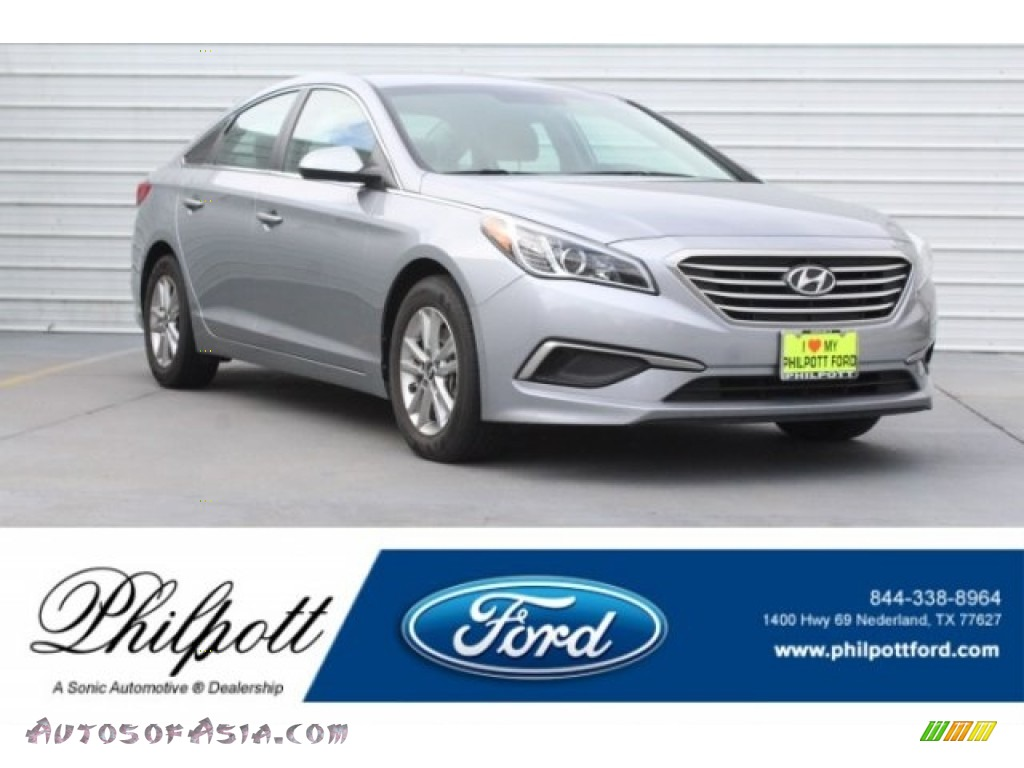 2017 Sonata SE - Shale Gray Metallic / Gray photo #1