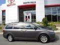 Toyota Sienna XLE Premium Predawn Gray Mica photo #2