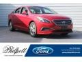 Hyundai Sonata SE Scarlet Red photo #1