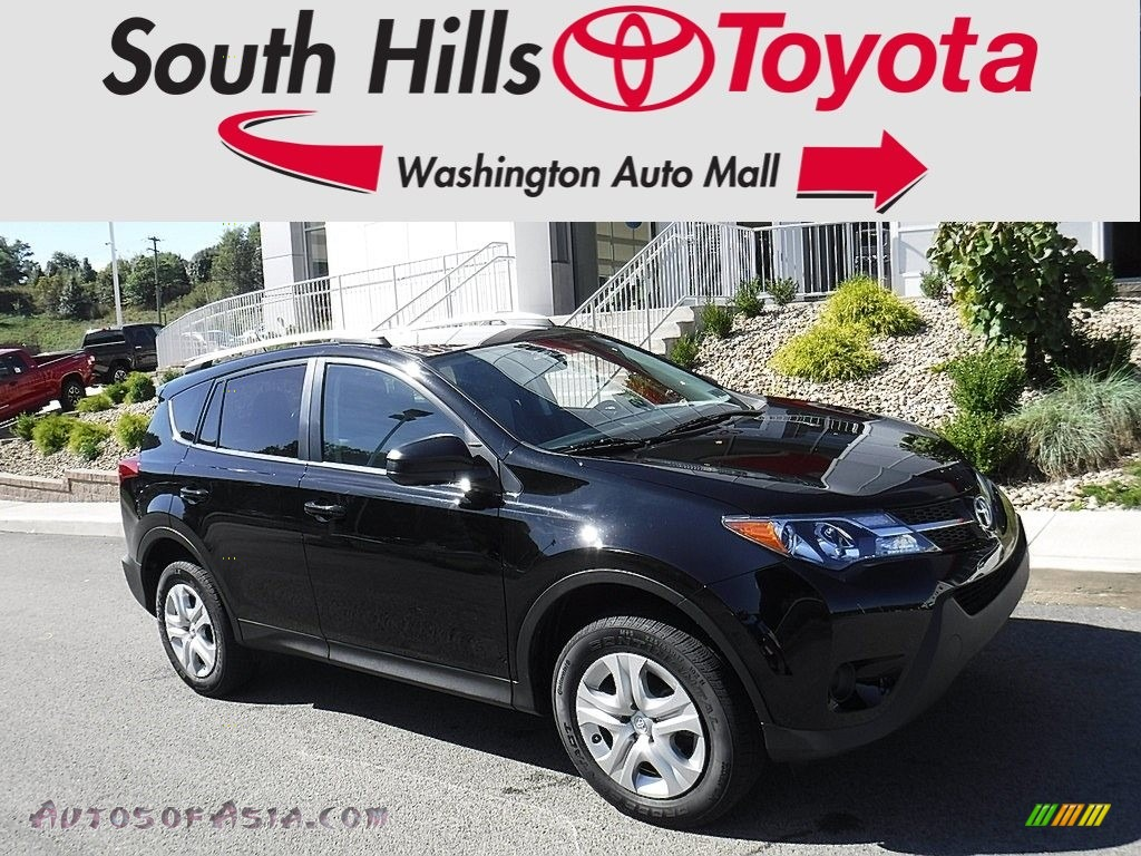 2015 RAV4 LE AWD - Black / Ash photo #1