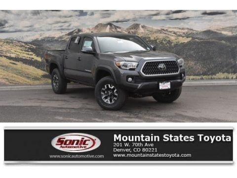 Magnetic Gray Metallic 2019 Toyota Tacoma SR Double Cab 4x4