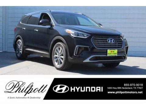 Becketts Black 2019 Hyundai Santa Fe XL SE