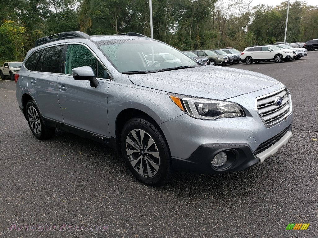 2016 Outback 2.5i Limited - Ice Silver Metallic / Slate Black photo #1