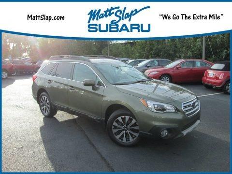 Wilderness Green Metallic 2016 Subaru Outback 2.5i Limited