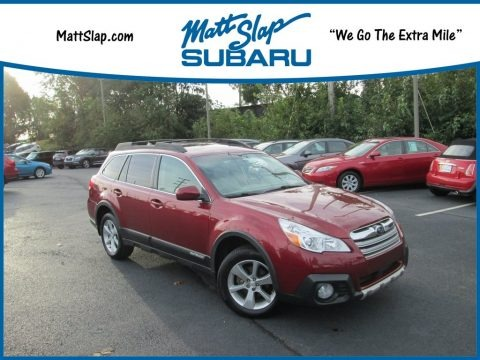 Venetian Red Pearl 2014 Subaru Outback 2.5i Limited