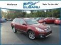 Subaru Outback 2.5i Limited Venetian Red Pearl photo #1