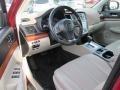 Subaru Outback 2.5i Limited Venetian Red Pearl photo #12