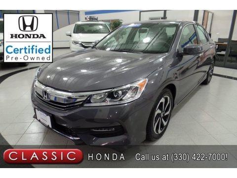 Modern Steel Metallic 2017 Honda Accord EX Sedan