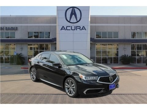 Crystal Black Pearl 2019 Acura TLX V6 Sedan