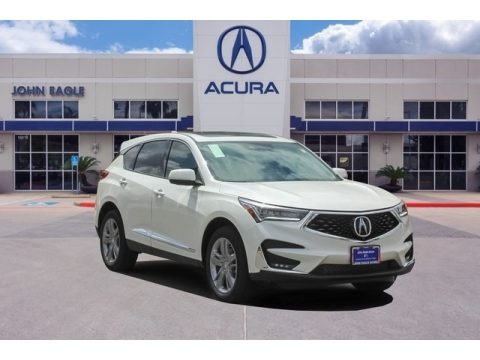 White Diamond Pearl 2019 Acura RDX Advance